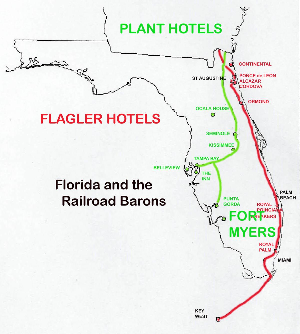 florida railroads in 1880 1900