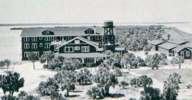Old Clearwater Beach Hotel in 1920s