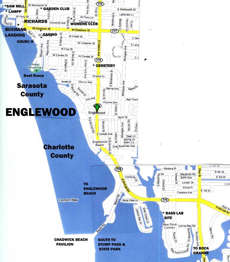 east englewood florida map