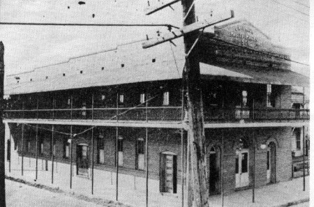 1908 clubhouse of Club Marti-Maceo in Ybor City (Tampa)