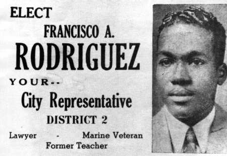 Rodriguez for Office poster.