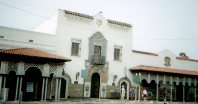 The famous Columbia Restaurant of Ybor City - largest and oldest Spanish restaurant in the United States.