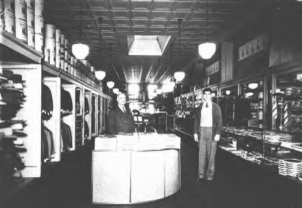 Max ARgentar's historic clothing store in Ybor City.