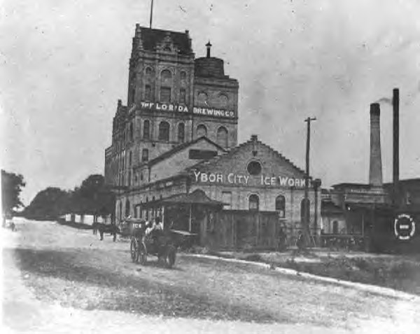 The Ybor City Ice Works (Ybor Brewery).